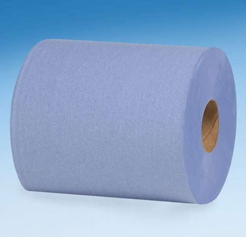 BERK ADV-BLUEPLUS-CP 11 X 15.5 X 500 FT CENTER PULL BLUE SHOP TOWELS