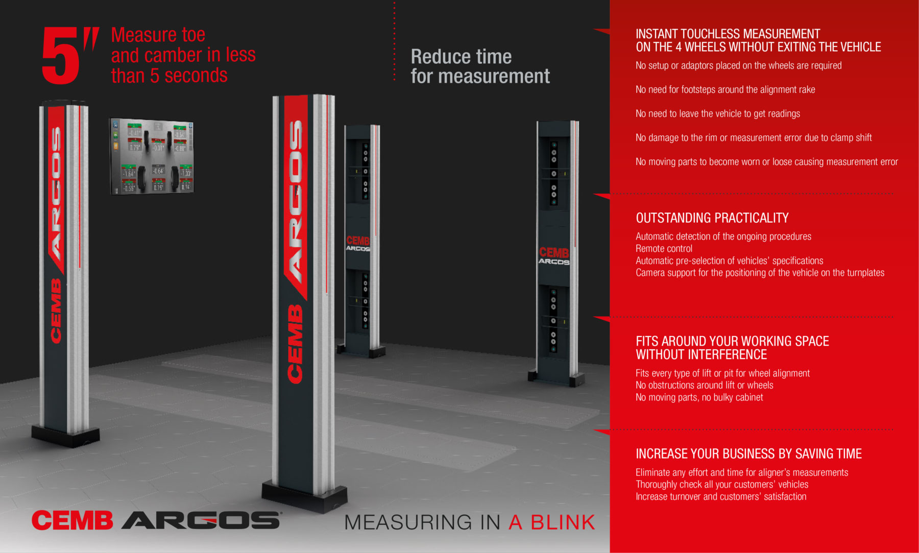 ARGOS Wheel Alignment System