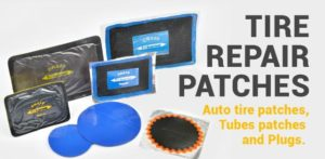 Tire Repair Patches - Flat Tire Repair